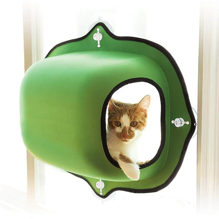 K&H EZ Mount Window Pod Kitty Sill Pet Supply