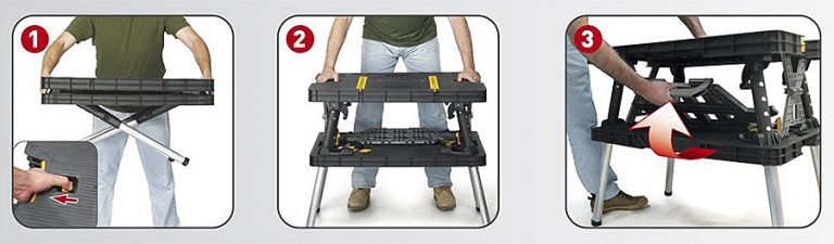 Keter Folding Work Table Foldable Table