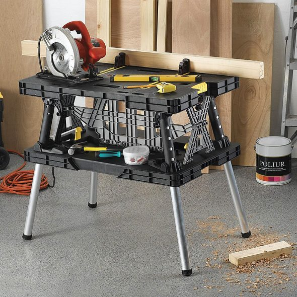 Keter Folding Work Table Handy Tools