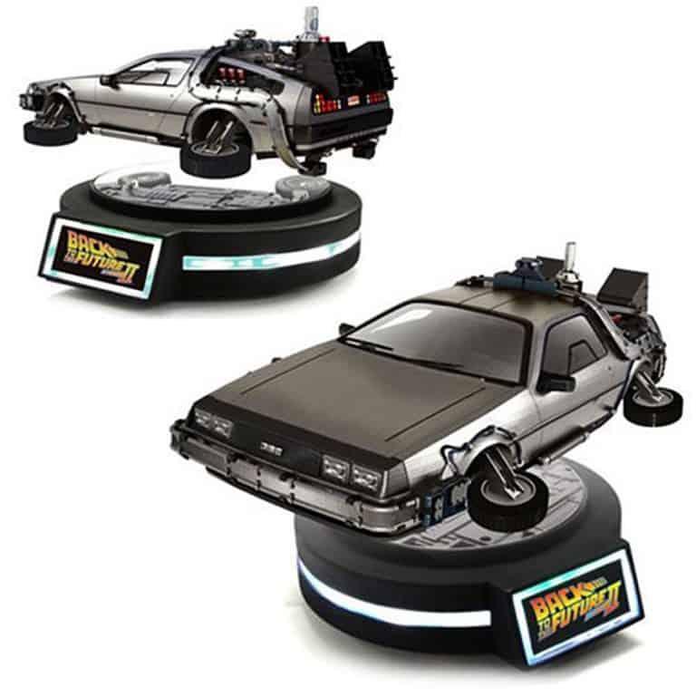 Kids Logic 120 Magnetic Floating DeLorean Time Machine Novelty Toy