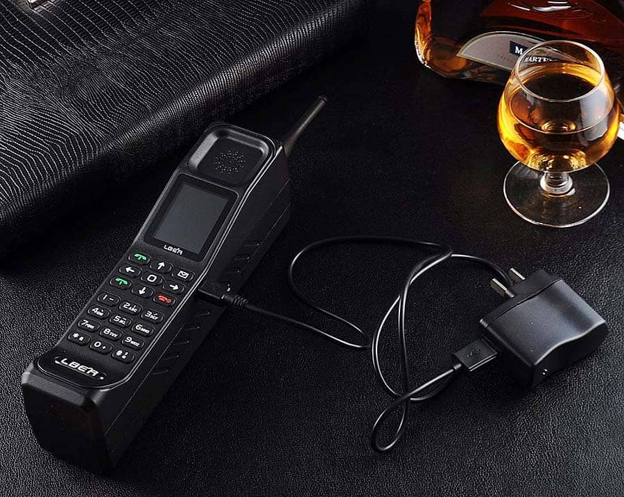 LBER KR999 Classic Retro Thick Brick Unlocked Cell Phone Electronic Device