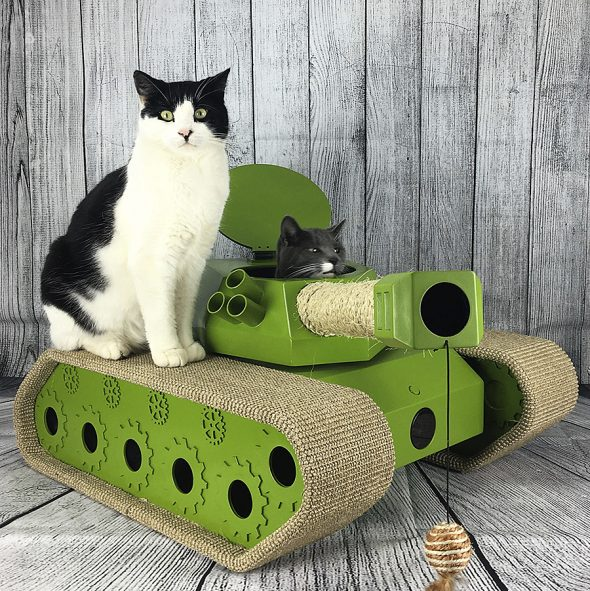 Ludipuss Cat Tank Feline Toy