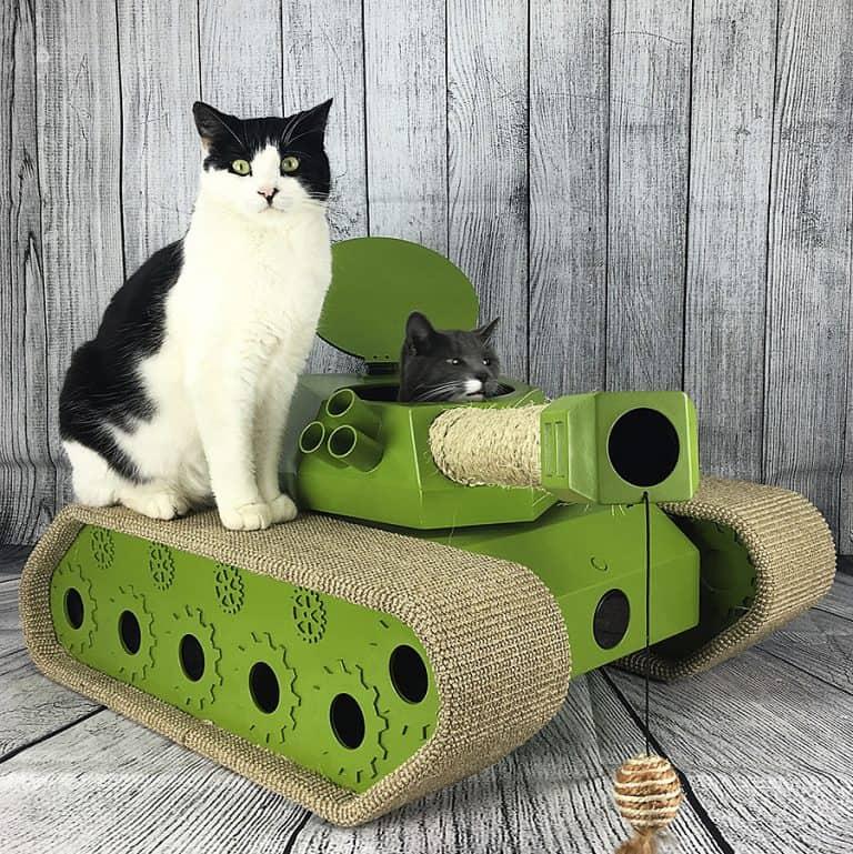 Ludipuss Cat Tank Feline Toy