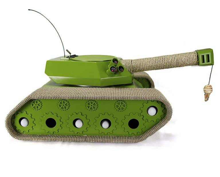 Ludipuss Cat Tank Handcrafted