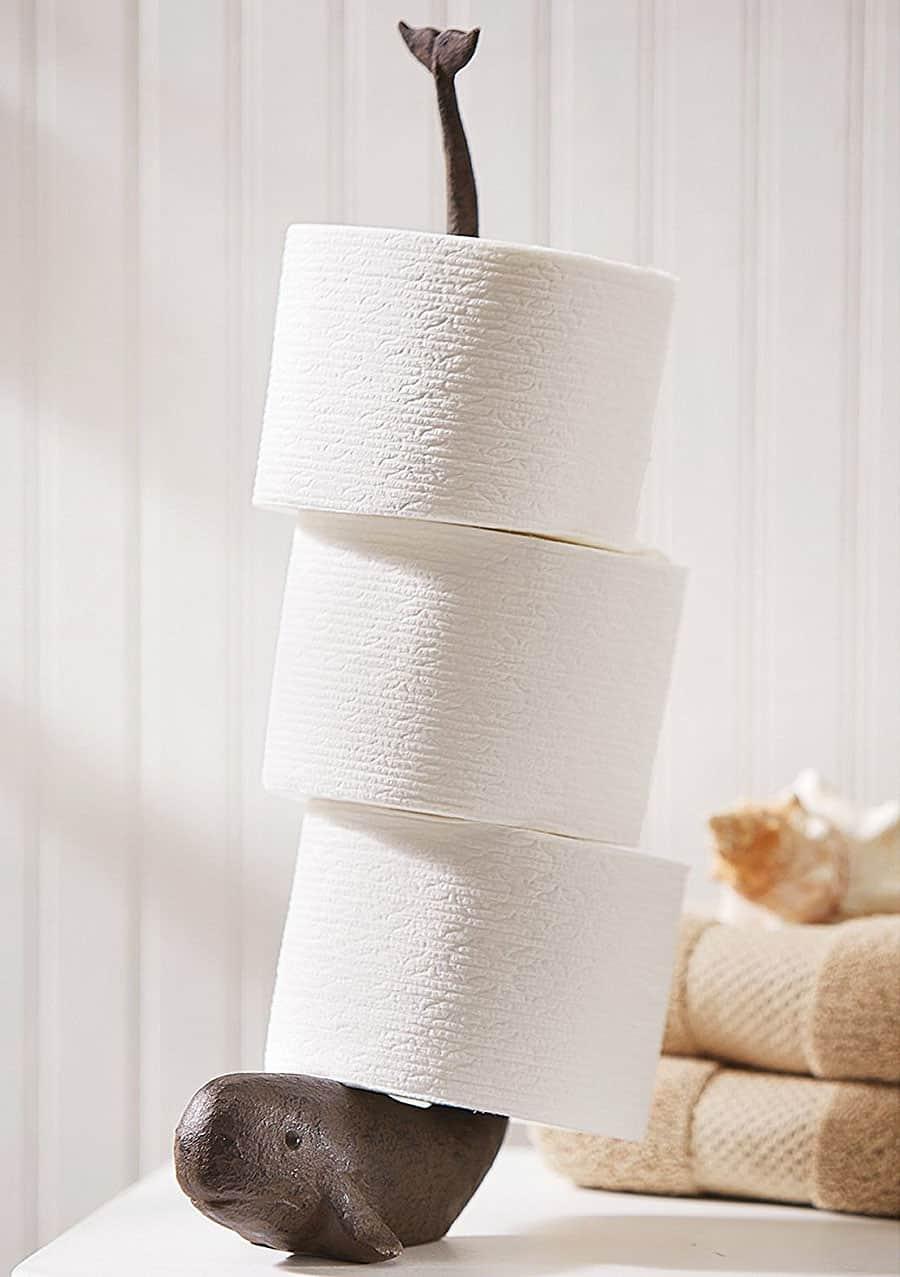 Mud Pie Whale Tissue Holder Bathroom Product