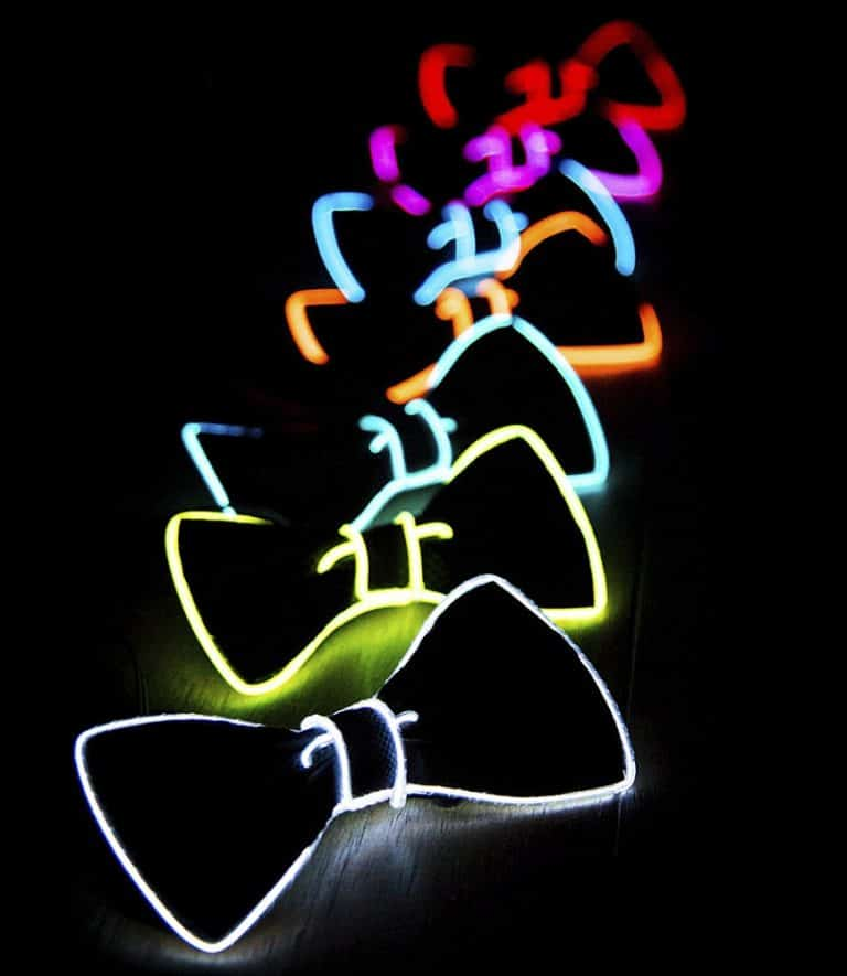 Neon Nightlife Light Up Bow Tie Bow Ties