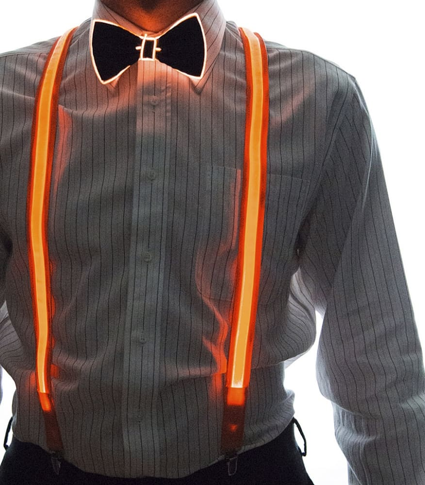Neon Nightlife Light Up Bow Tie Clothing
