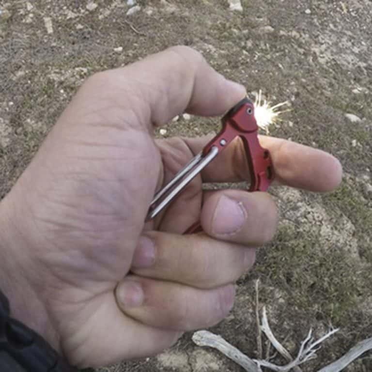 Outdoor Element Firebiner Fire Starter