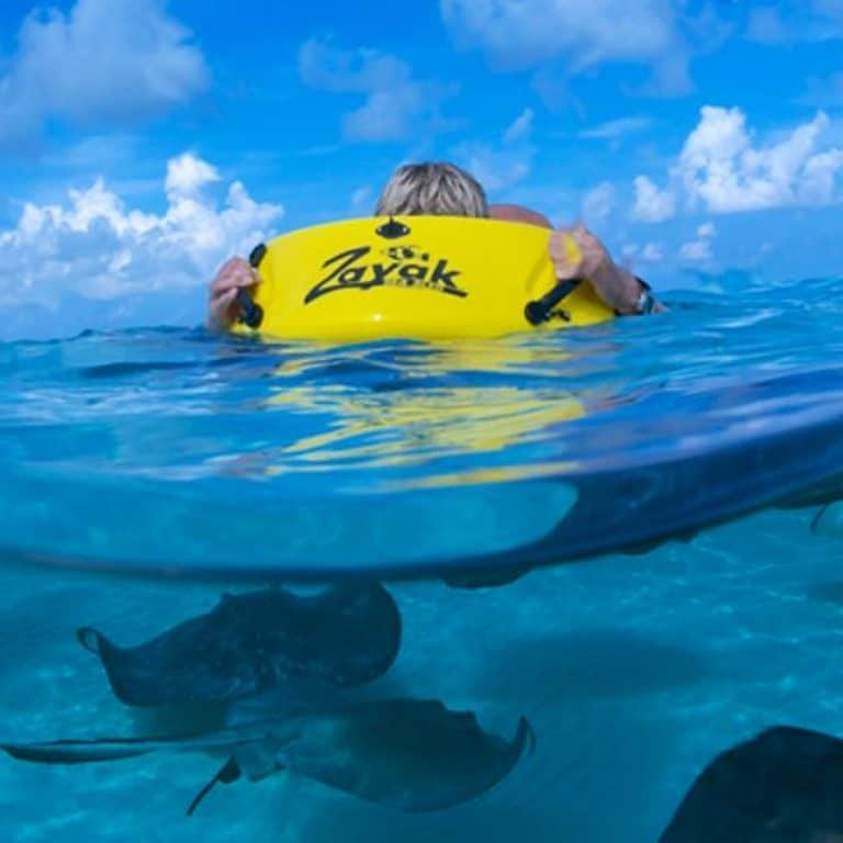 ReefBoard Zayak Sea Sled Snorkel Alternative