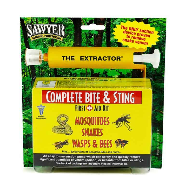 Sawyer Products Bite and Sting Extractor Kit Package