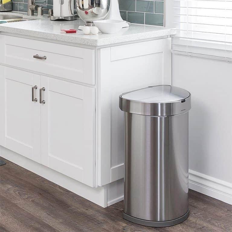 Simplehuman Touchless 45L Semi-round Sensor Trash Can Bin