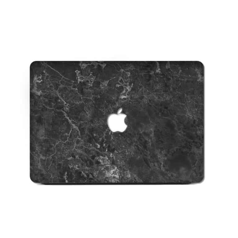 Slick Case Macbook Marble Case Black Sticker