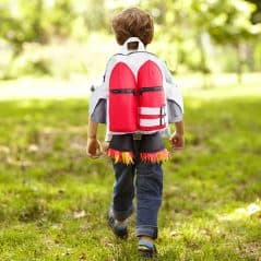 Ride to school with a jetpack.