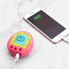 Charge my phone, Tamagotchi!