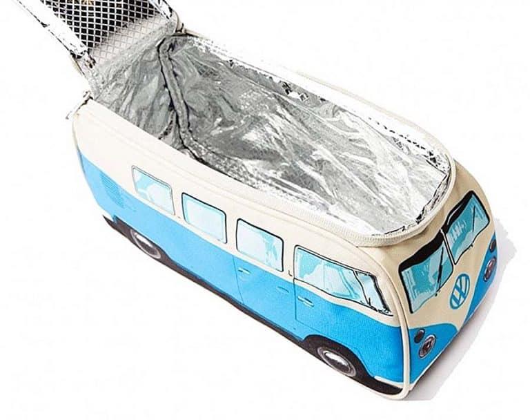 The Monster Factory Volkswagen T1 Camper Van Lunch Bag Insulated Interior