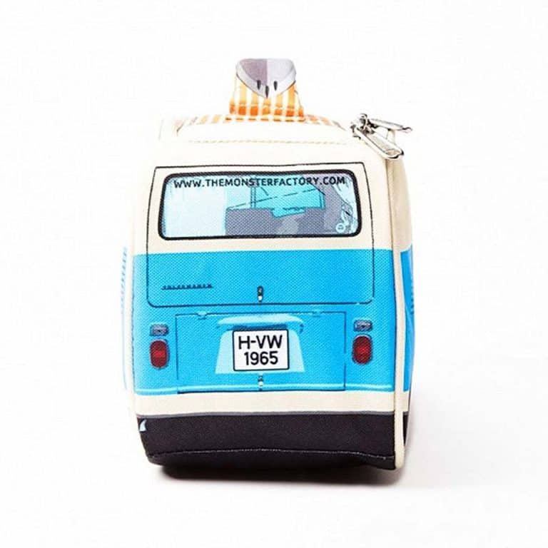 The Monster Factory Volkswagen T1 Camper Van Lunch Bag Novelty Items