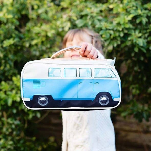Carry your lunch in a camper van.