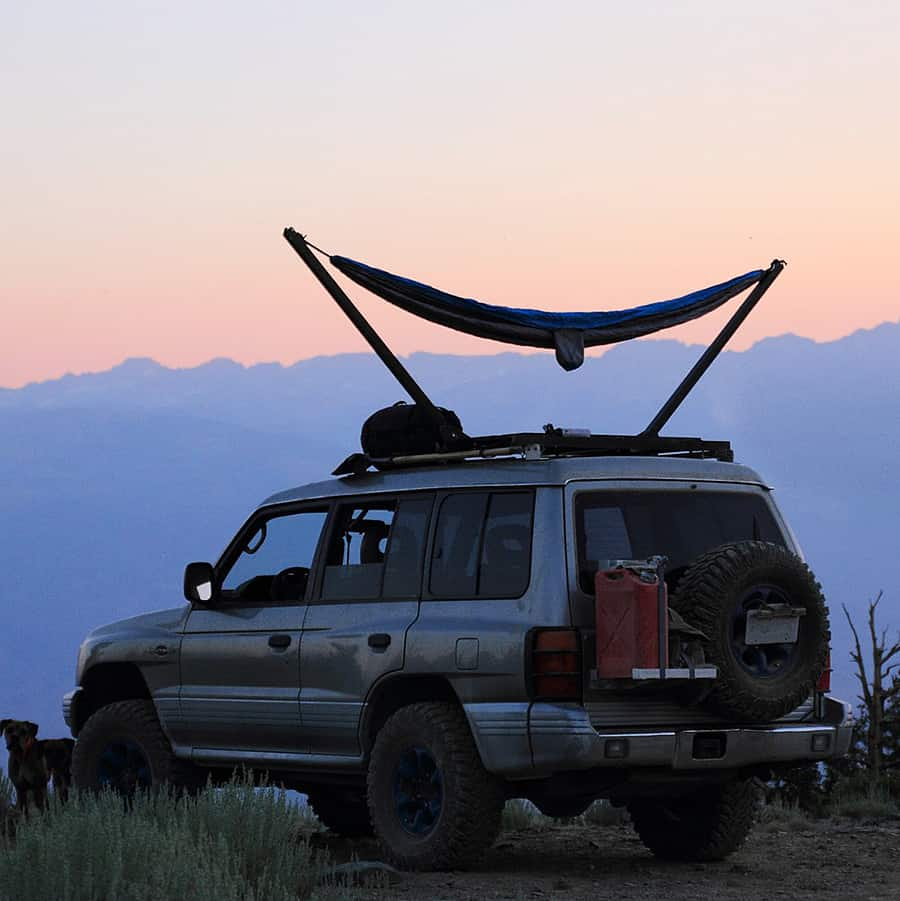 TrailNest Roof Top Hammock Stand System Camping
