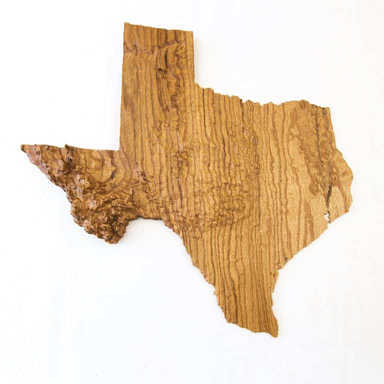 US Of Wood Any US State Wooden Topographic Map handmade Item