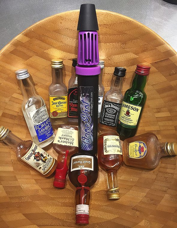 Vape Shot Alcohol Vaporizing Spirit Pump Bar Supplies