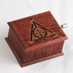 Harry Potter in a music box.
