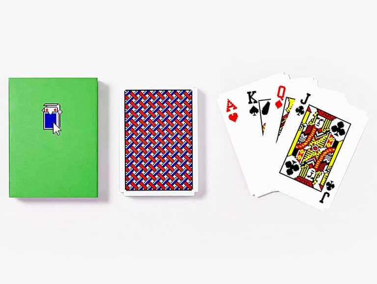 Areaware Solitaire Playing Cards Card