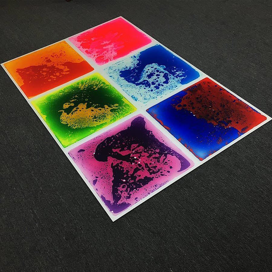 Art3d Liquid Fusion Dance Floors No Slip