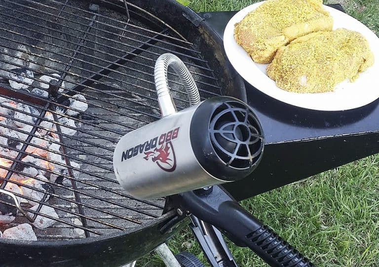 BBQ Dragon Fire Supercharger Hands Free