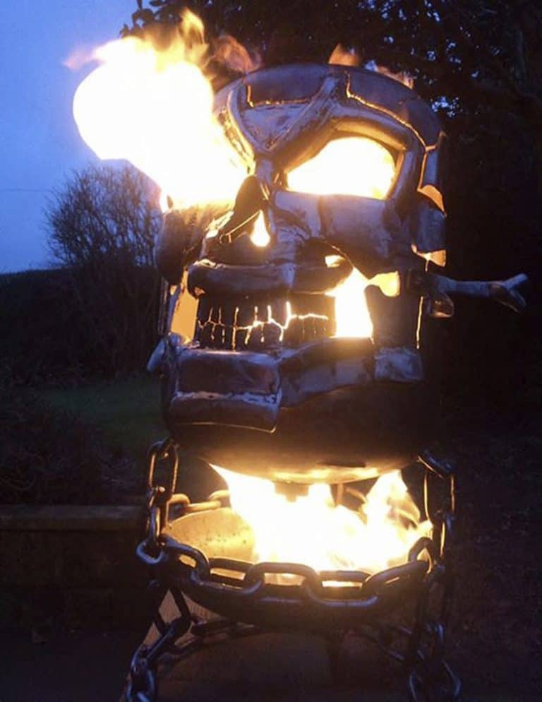 Burned By Design Ghost Rider Fire Pits Burner