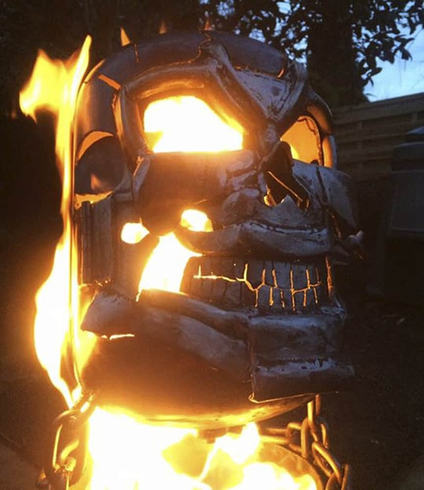 Burned By Design Ghost Rider Fire Pits Firepit