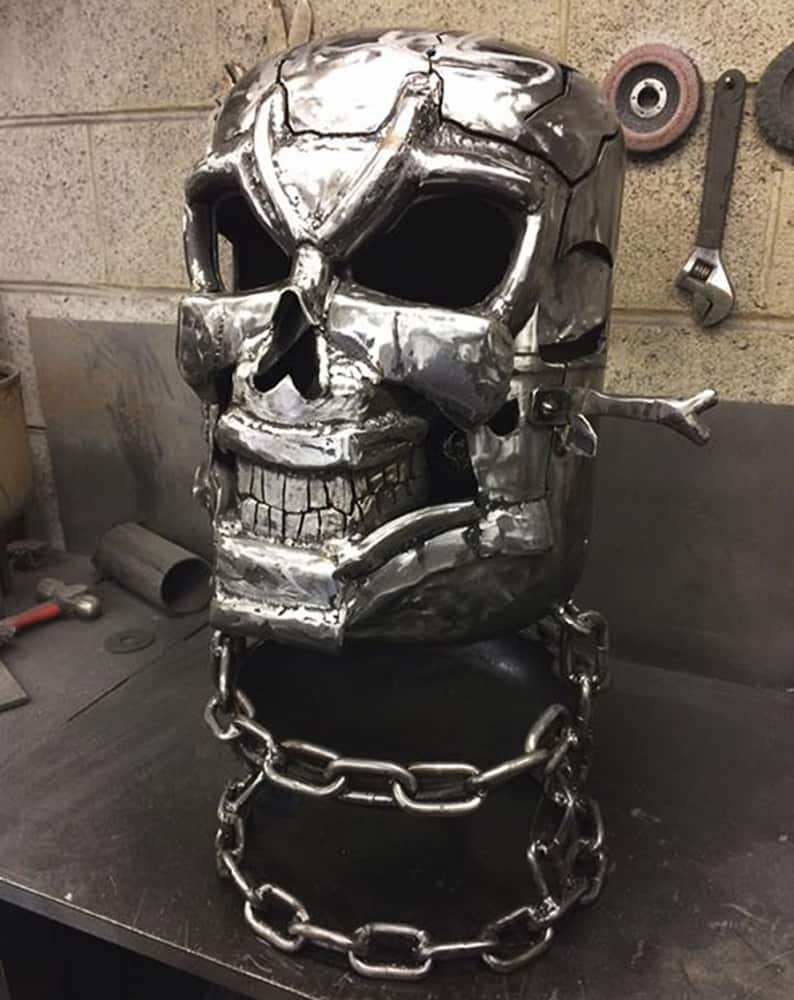 Burned By Design Ghost Rider Fire Pits Metal Work