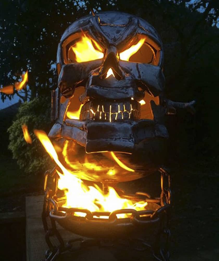 If Johnny Blaze was a firepit…
