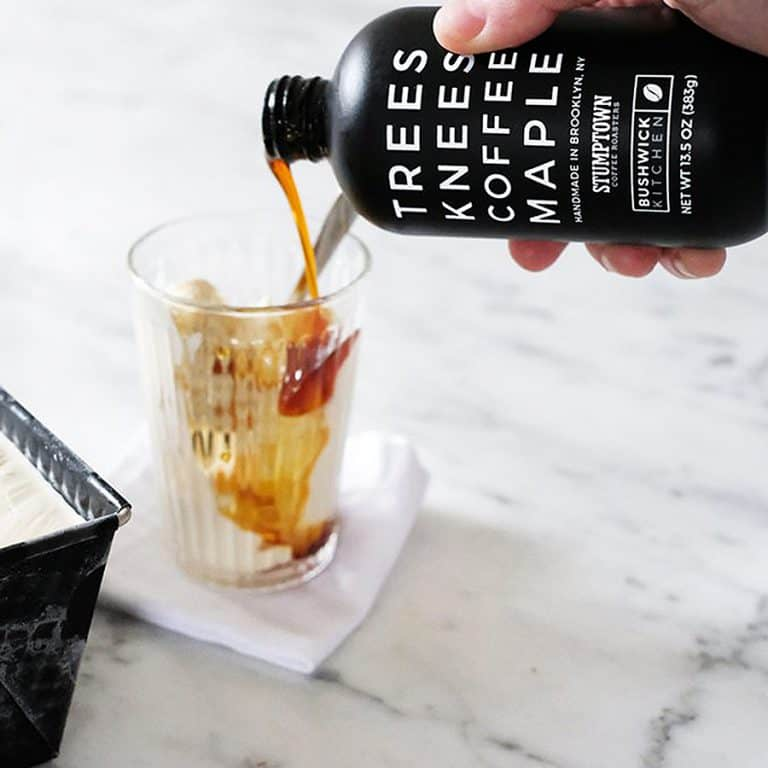 Bushwick Kitchen Trees Knees Coffee Maple Syrup