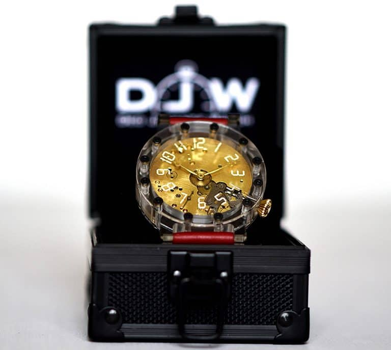 Deo Juvante Watch One Of A Kind Swiss Skeleton Watch Accessories