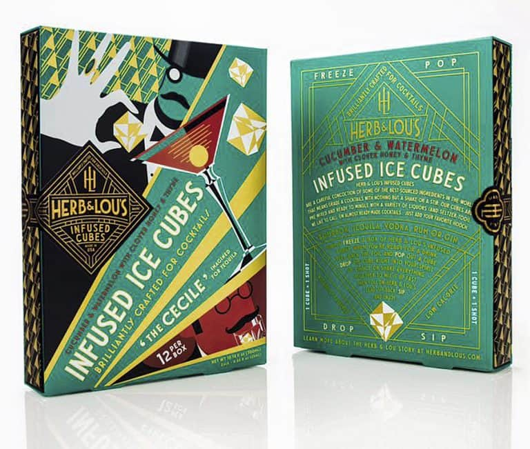 Herb & Lou's Infused Cubes Drink