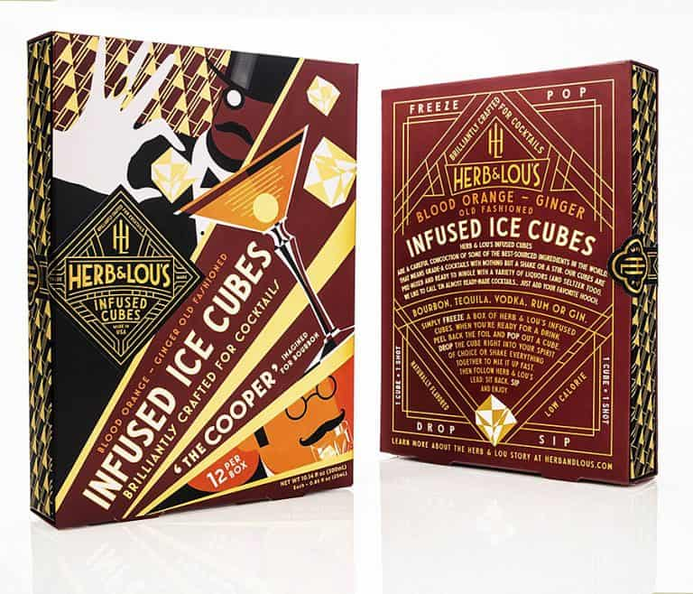 Herb & Lou's Infused Cubes Novelty Item