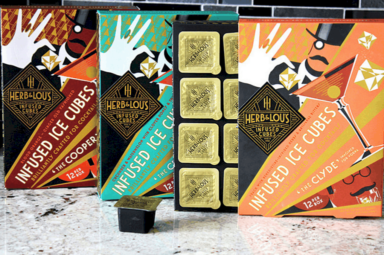 Herb & Lou's Infused Cubes Pre Mixed Cubes
