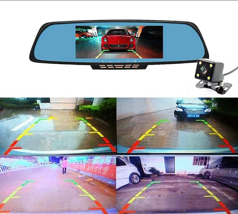 Junsun Rearview Mirror Camera Car Supply