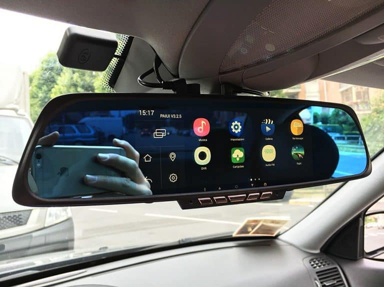 Junsun Rearview Mirror Camera Cool Global Positioning System