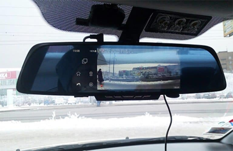 Junsun Rearview Mirror Camera Reverse Cam