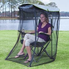 Relax outdoors without the bugs.