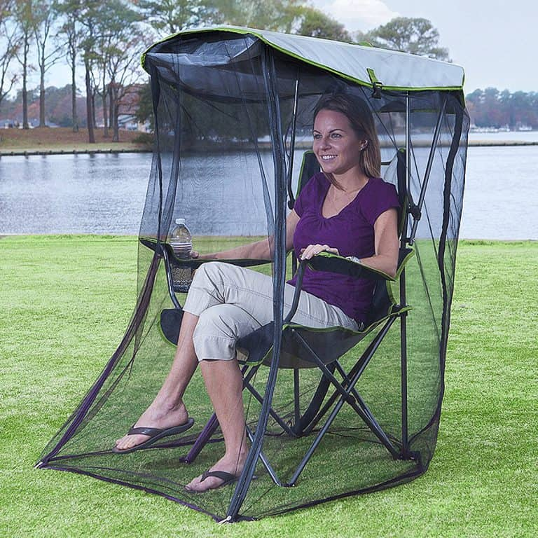 Kelsyus Original Canopy Chair with Bug Guard Outdoor Gear