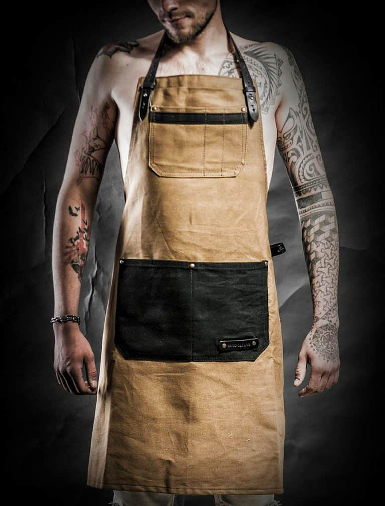 Kruk Garage Atelier Leather Apron Handmade Items