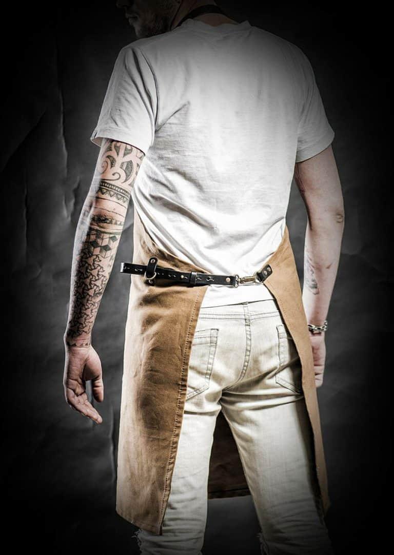 Kruk Garage Atelier Leather Apron High Quality Leather