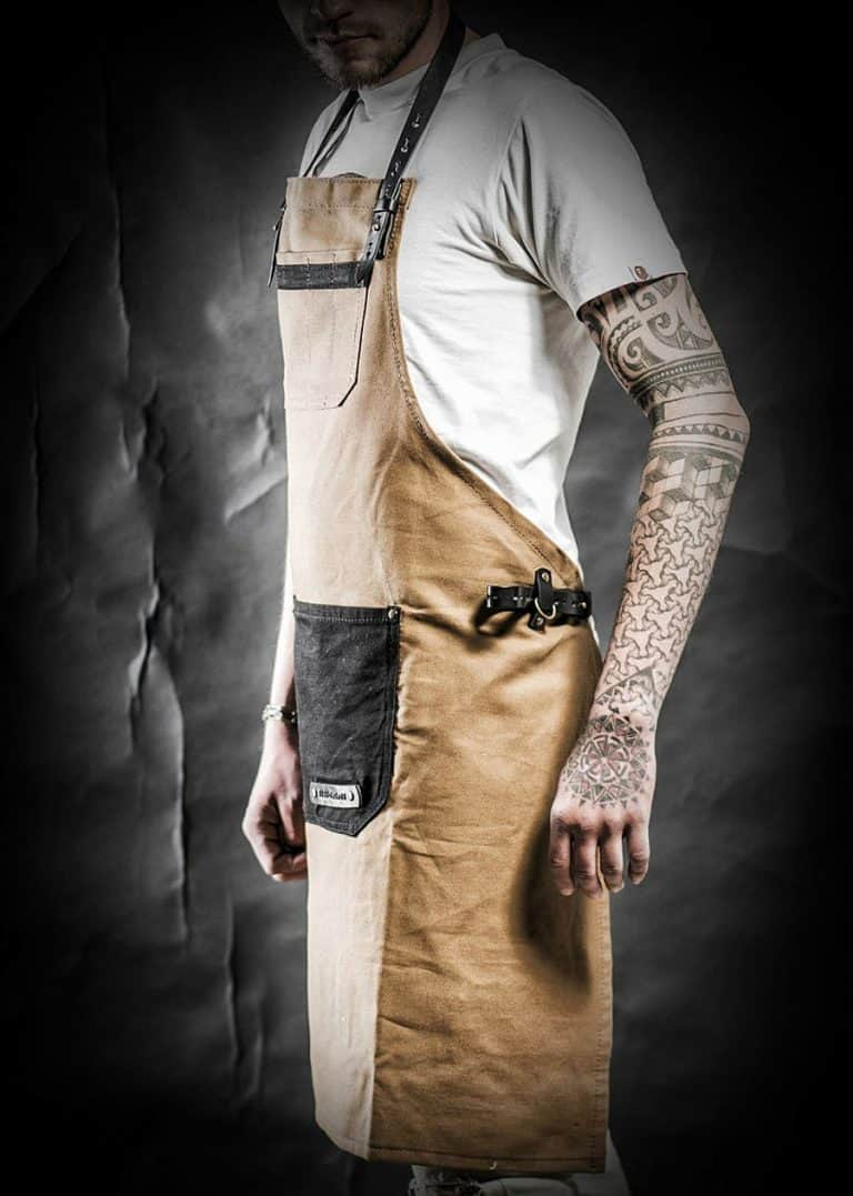 Kruk Garage Atelier Leather Apron Work Aprons