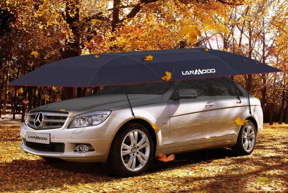 Lanmodo Four-Season Automatic Car Tent Umbrella