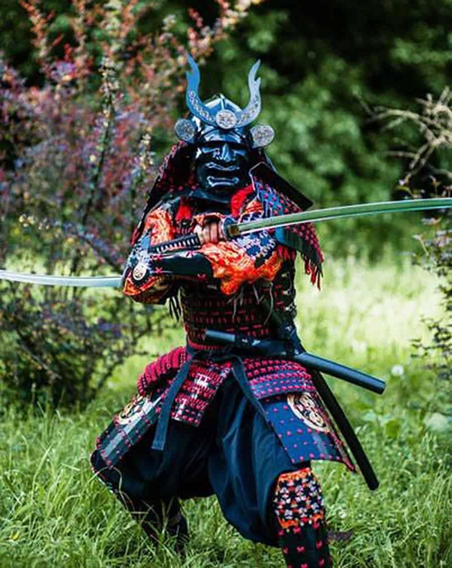 Master Lemans Store Samurai Armor Costume
