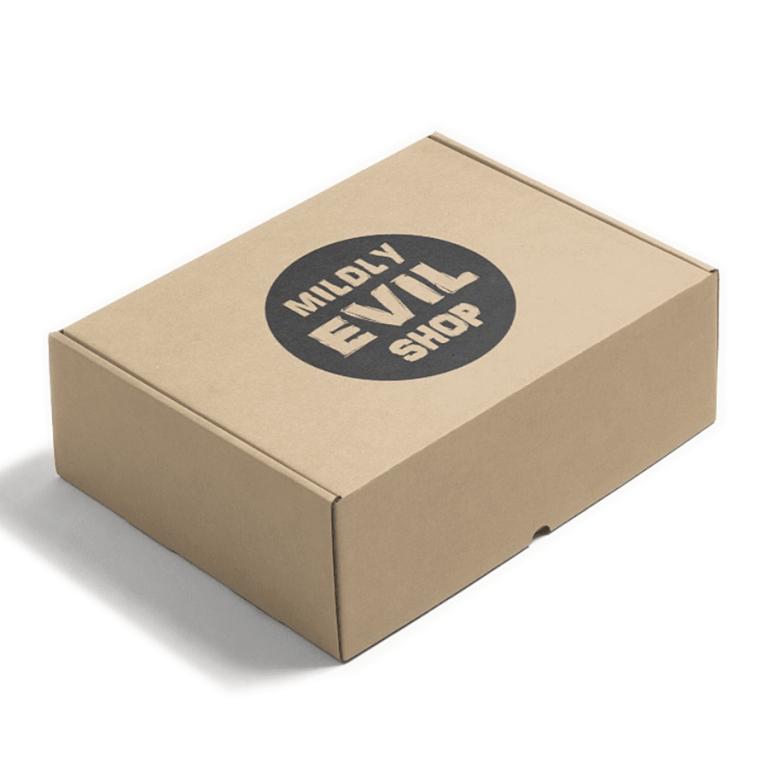 Mildly Evil Fortune Cookies Packaging Box