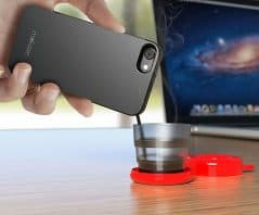 Pour hot coffee straight from you phone!
