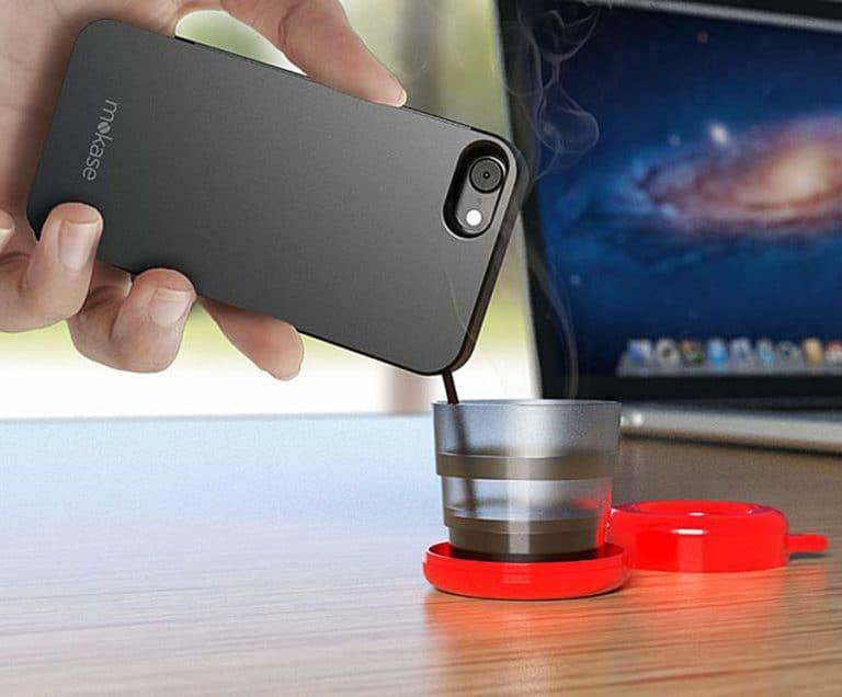 Mokase Coffee-making Smartphone Case Mobile Accessory